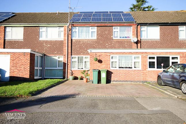 Thumbnail Town house for sale in Hazel Drive, Leicester