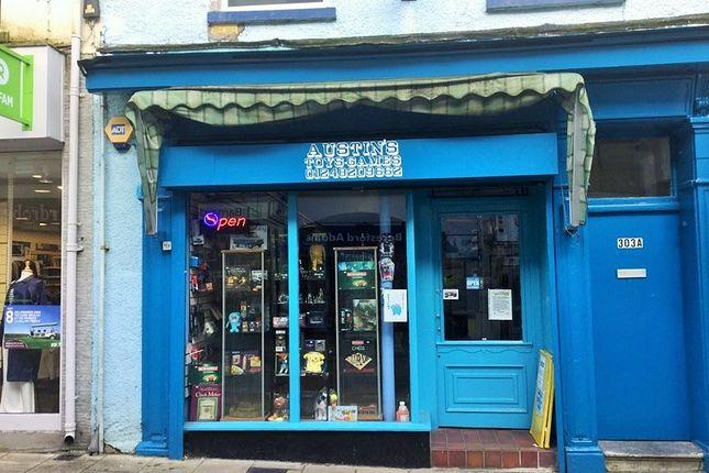 Retail premises for sale in 303 High Street, Bangor