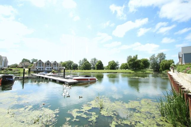 Thumbnail Detached house for sale in Waters Edge, Wansford Marina, Peterborough