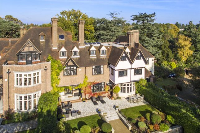 Thumbnail Terraced house for sale in Yaffle Road, St. George's Hill, Weybridge, Surrey