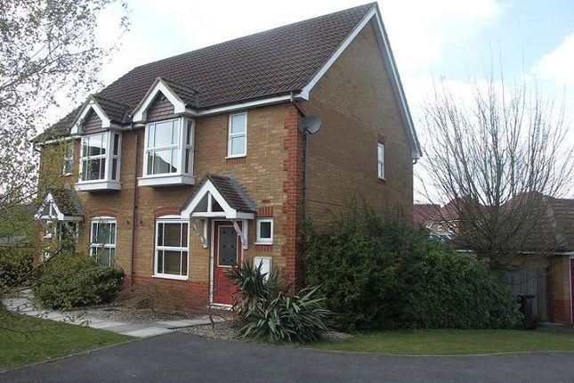 Thumbnail Semi-detached house to rent in Redwing Road, Basingstoke