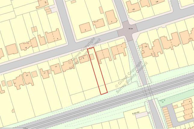 Thumbnail Land for sale in Salisbury Avenue, Cheam, Sutton