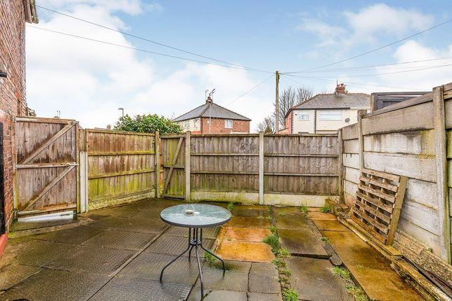Rear Garden of Beechwood Grove, Prescot, Merseyside L35