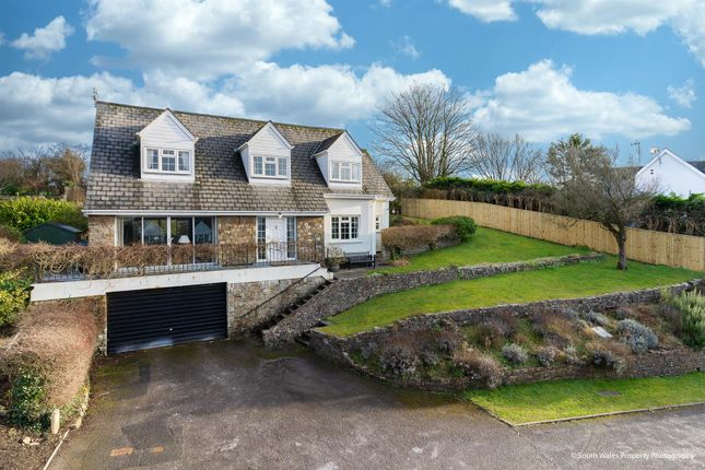 Thumbnail Detached house for sale in The Paddock, Cowbridge