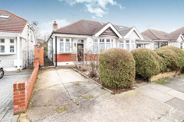 Thumbnail Semi-detached bungalow for sale in Heather Drive, Rise Park, Romford