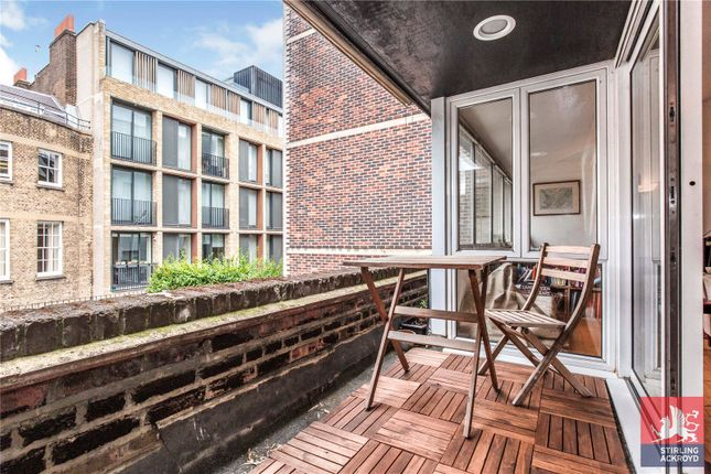 Balcony of Johns Mews, London WC1N