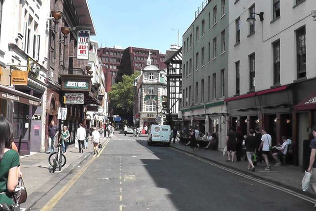 Thumbnail Retail premises to let in Old Compton Street, Soho