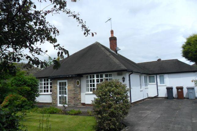 Thumbnail Bungalow to rent in Boundary Lane, Congleton