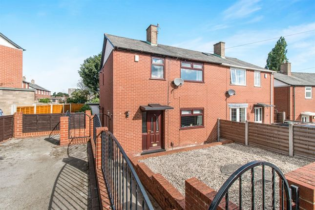 Thumbnail Semi-detached house for sale in Wellstone Gardens, Bramley, Leeds