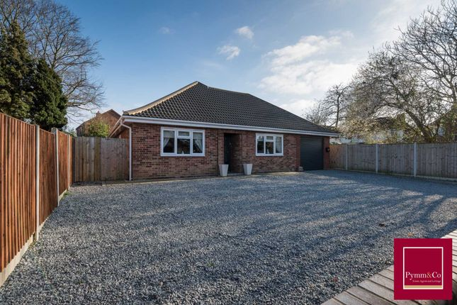 Thumbnail Detached bungalow for sale in Stonehouse Road, Sprowston
