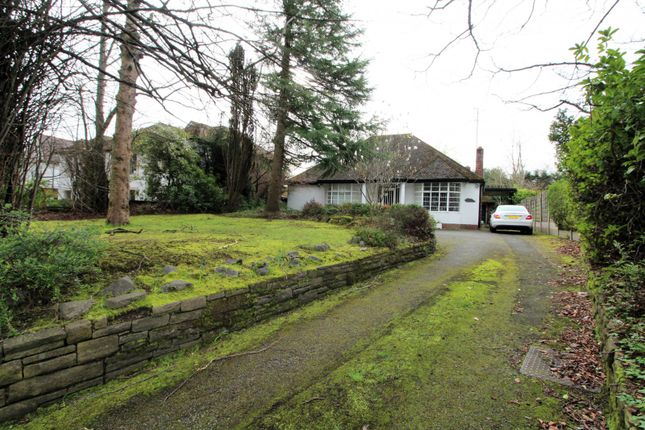 Thumbnail Detached bungalow for sale in Ringley Road, Manchester