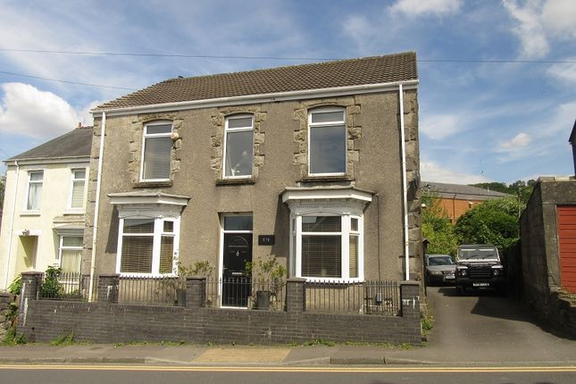 Thumbnail Detached house to rent in Birchgrove Road, Birchgrove, Swansea.