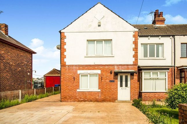 Thumbnail Semi-detached house for sale in Moss Road, Askern, Doncaster