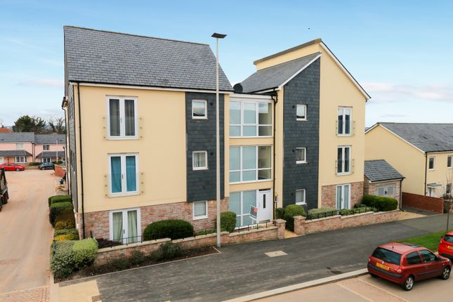 Thumbnail Flat for sale in Younghayes Road, Cranbrook, Exeter