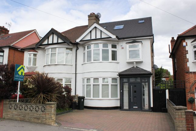 Thumbnail Semi-detached house to rent in Broadmead Road, Woodford Green, Essex
