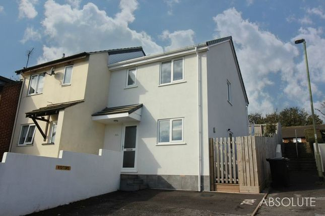 Thumbnail End terrace house to rent in Glebeland Way, Torquay