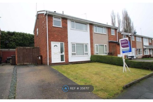 Thumbnail Semi-detached house to rent in Llwyn Eglwys, Wrexham