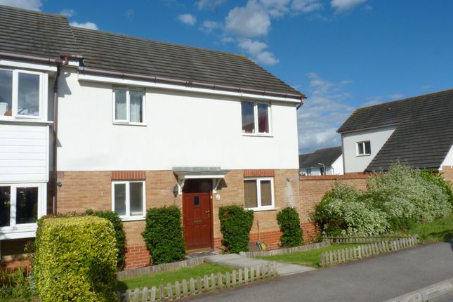 Thumbnail End terrace house to rent in Bluebell Way, Whiteley, Fareham