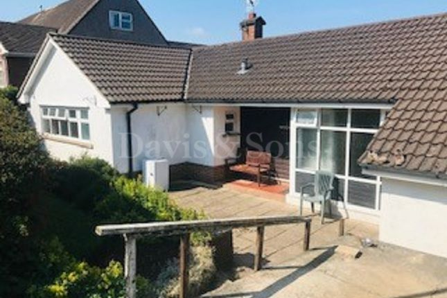 Thumbnail Detached bungalow for sale in Old Hill Crescent, Christchurch, Newport .