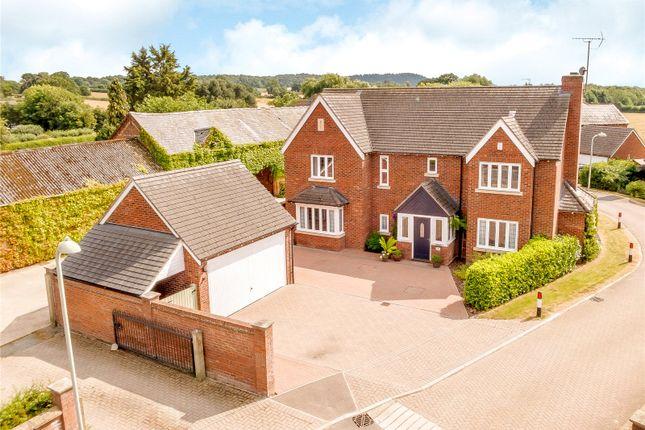 Thumbnail Detached house for sale in Hall Farm Grange, Ruyton Xi Towns, Shrewsbury