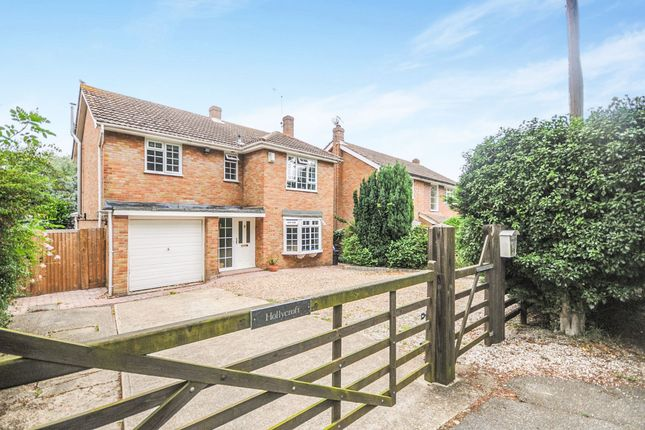 Thumbnail Detached house for sale in Holybread Lane, Little Baddow, Chelmsford