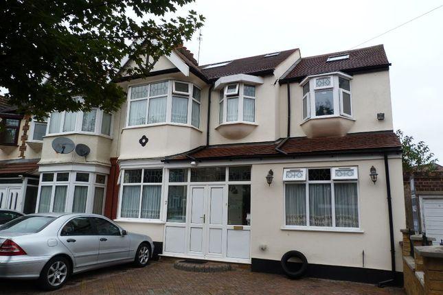 Thumbnail End terrace house for sale in Queenborough Gardens, Gants Hill