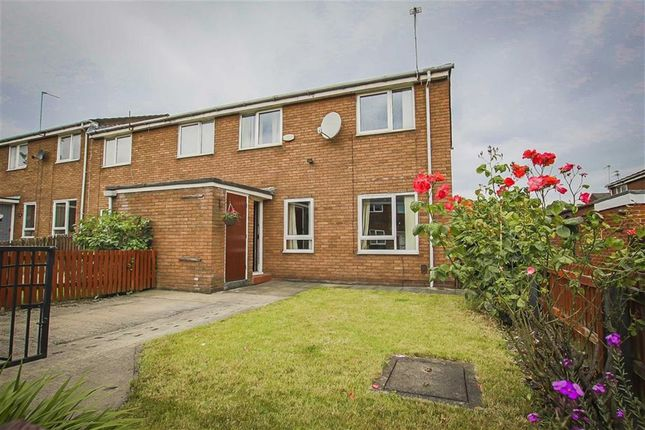 Thumbnail End terrace house for sale in Greytown Close, Salford