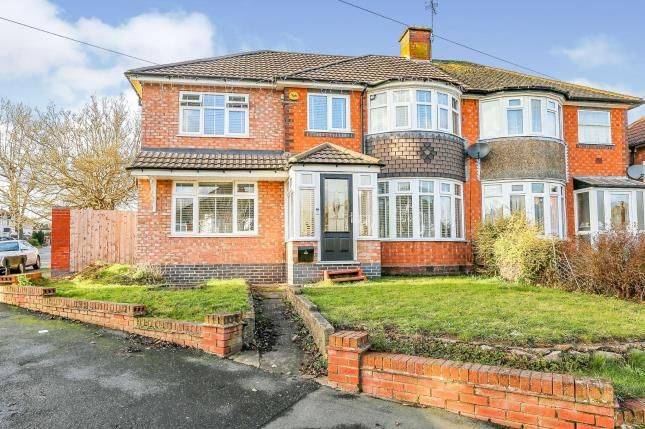 Thumbnail Semi-detached house for sale in Sheldonfield Road, Sheldon, Birmingham, West Midlands