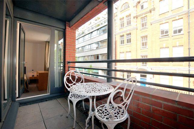 Balcony of West One House, Fitzrovia W1W