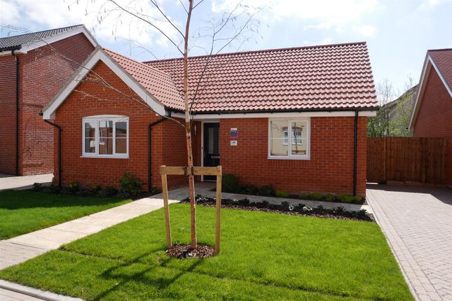 Thumbnail 2 bed detached bungalow for sale in Abbott Way, Holbrook, Ipswich