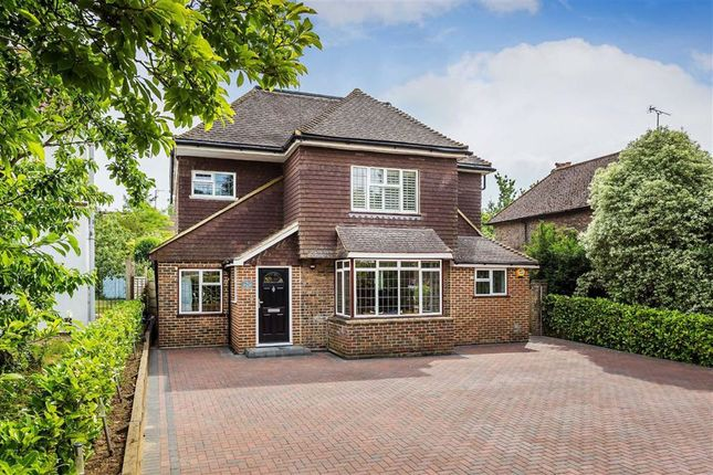 Thumbnail Detached house to rent in Chalkpit Lane, Oxted, Surrey