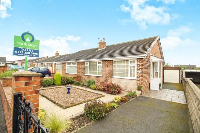 Thumbnail Bungalow to rent in High Ridge Avenue, Rothwell, Leeds