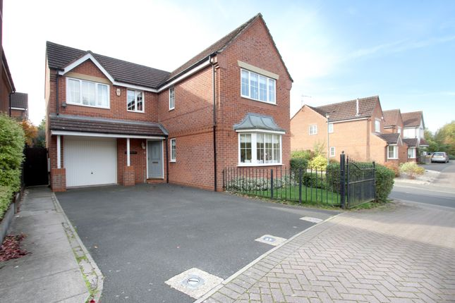 Thumbnail Detached house for sale in Grovefield Crescent, Balsall Common, Coventry