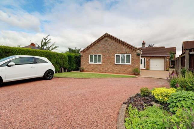 Thumbnail Detached bungalow for sale in Gillatts Close, Wrawby, Brigg