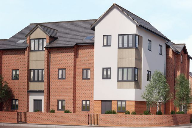 Thumbnail Flat for sale in Off Wharncliffe Road, Loughborough