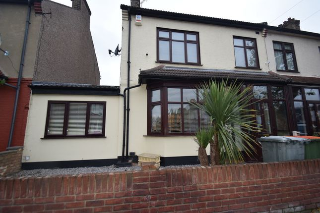 Thumbnail End terrace house for sale in Sandford Road, East Ham, London