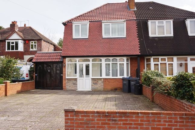 Thumbnail Semi-detached house for sale in Epwell Grove, Kingstanding, Birmingham