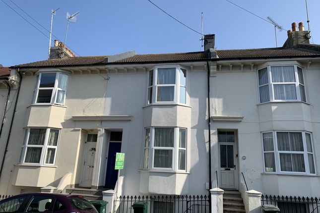 Thumbnail Terraced house to rent in Pevensey Road, Brighton