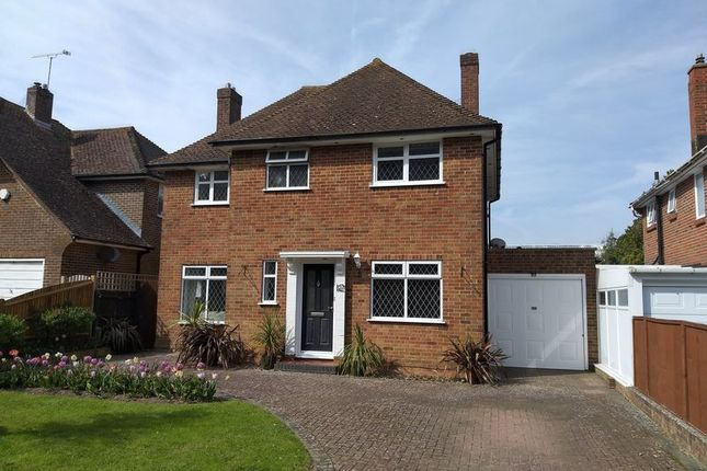 Thumbnail 3 bed detached house for sale in Ilex Way, Goring-By-Sea, Worthing