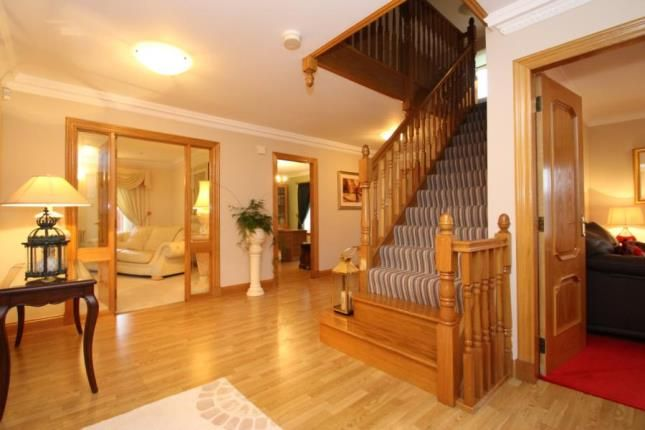 Hallway of Fairfields, Dunmore, Falkirk, Stirlingshire FK2
