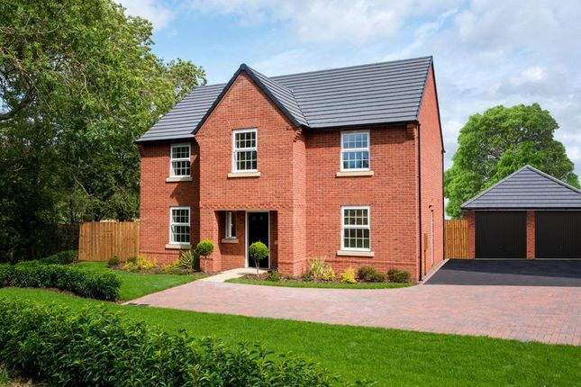 "Thumbnail Detached house for sale in ""Winstone"" at Fleckney Road, Kibworth, Leicester"