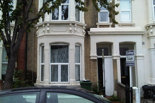 Thumbnail Terraced house to rent in Allens Road, Southsea