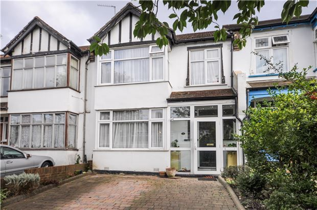 Thumbnail Terraced house for sale in Grange Road, South Croydon, Surrey