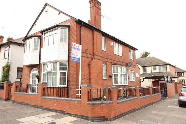 Thumbnail Detached house for sale in Baslow Road, Leicester