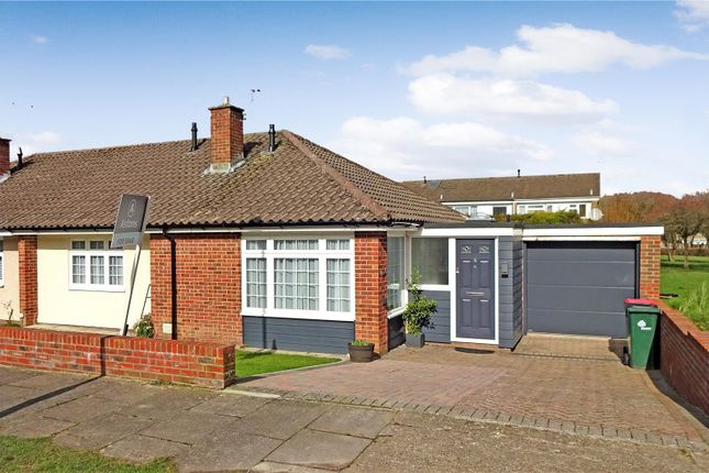Thumbnail Semi-detached bungalow for sale in Dormans, Gossops Green, Crawley