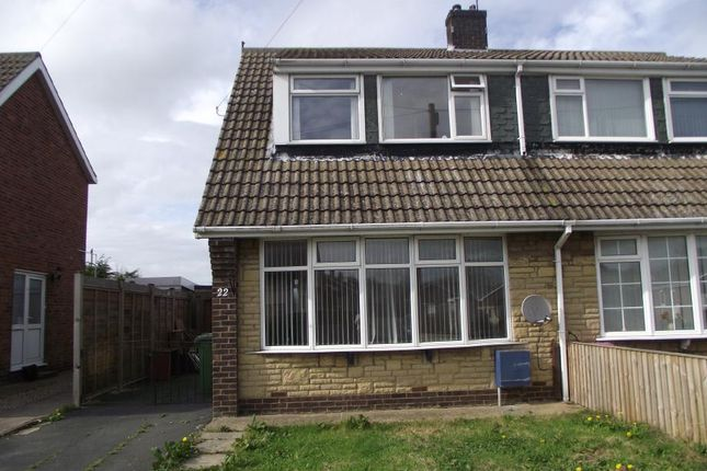 Thumbnail Semi-detached house to rent in Havercroft Road, Hunmanby