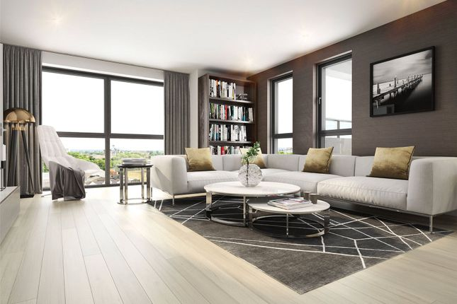 Thumbnail Flat for sale in City North East Tower, 3 City North Place, London