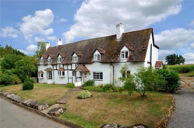 Thumbnail Detached house for sale in Coughton, Alcester, Warwickshire