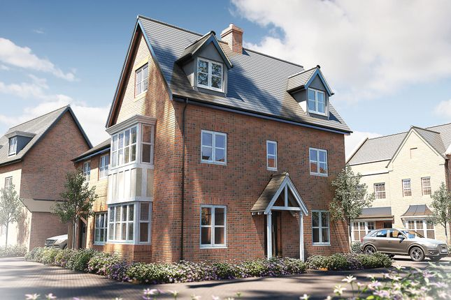 """Thumbnail Semi-detached house for sale in """"The Dunster"""" at Stocks Lane, Winslow, Buckingham"""
