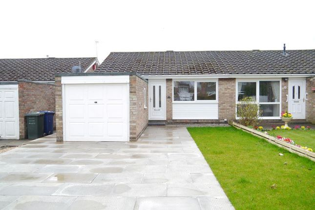 Thumbnail Semi-detached bungalow for sale in Church Close, Dinnington, Newcastle Upon Tyne